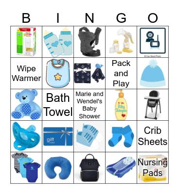 Shower Gift Bingo Card