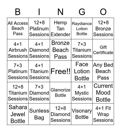 SALES BINGO !! Bingo Card
