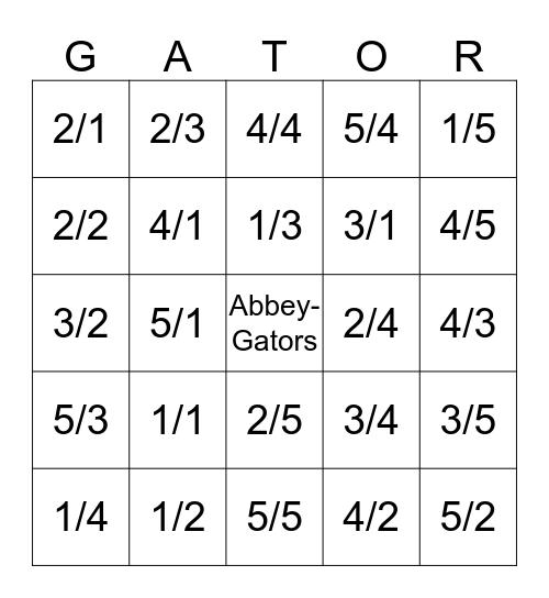 la Bingo Card
