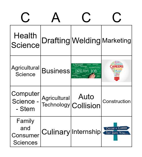 Conway Area Career Center Bingo Card