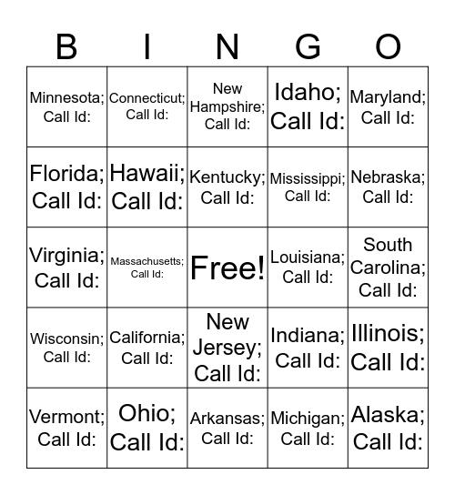 Conquer Bingo Card