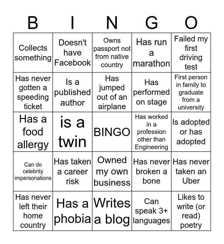 """CDSS Women Luncheon"" Bingo Card"
