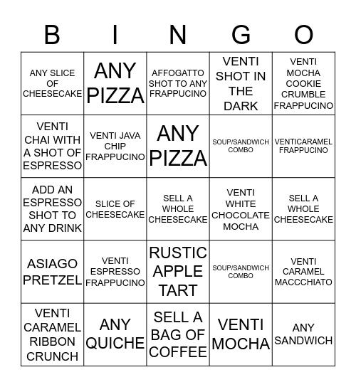 BINGO UPSELLING EXTRAVAGANZA Bingo Card