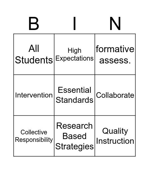 Data Teams BINGO Card