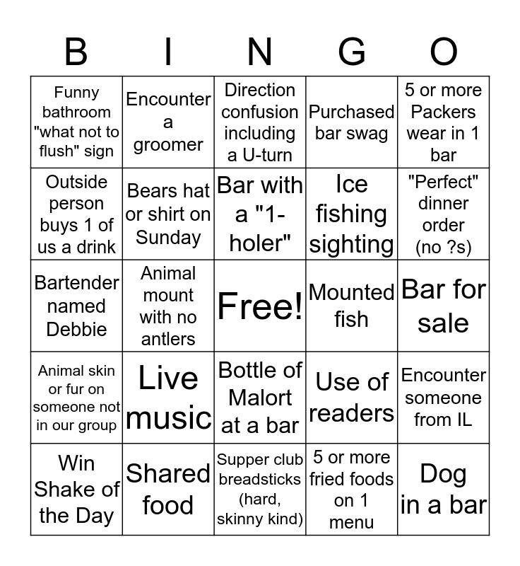 Sled Life ~ 2020 Bingo Card