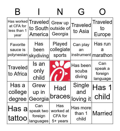 Windward Bingo Card