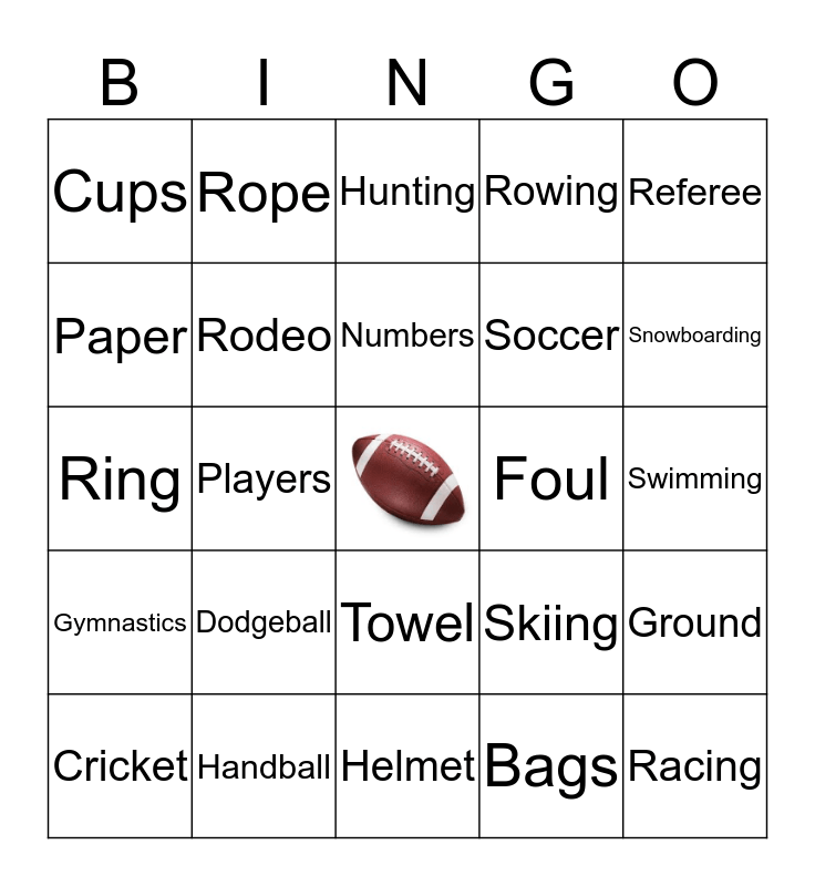 The Mike Reeder Team 2020 Bingo Card