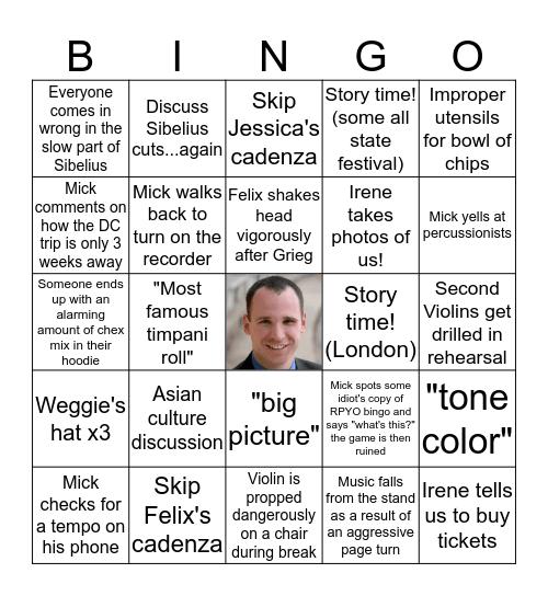 RPYO BINGO!!! Bingo Card