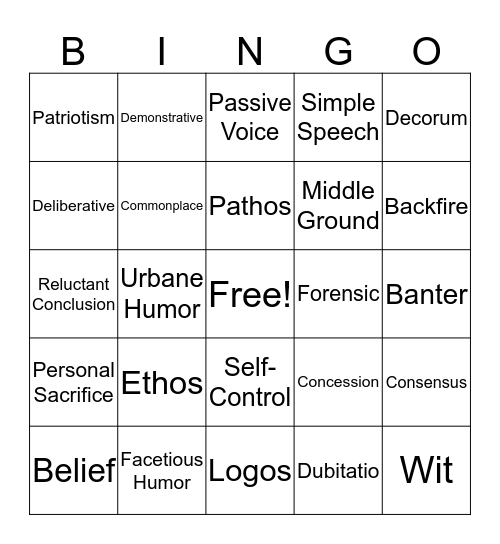 02.02.3 Bingo Card