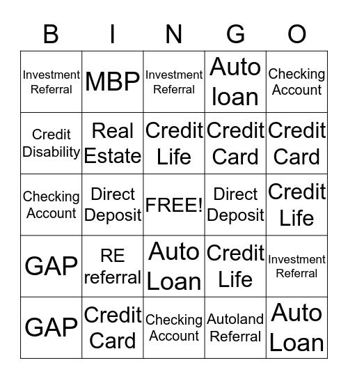 Carlsbad Fun Bingo Card