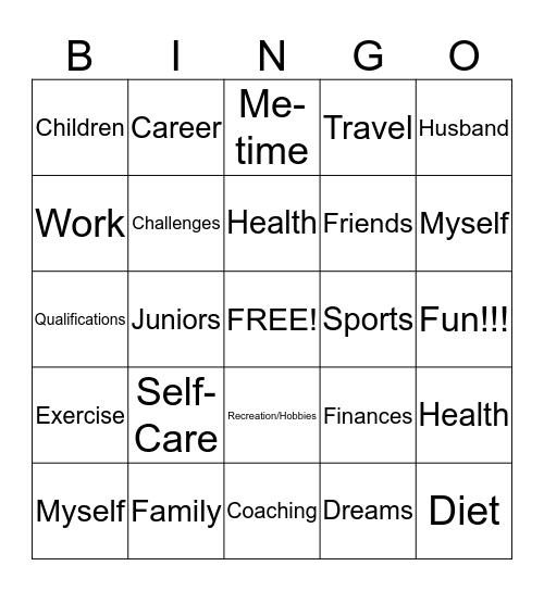 Coaching Bingo! Bingo Card