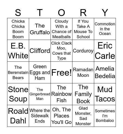 Books & Bingo Card