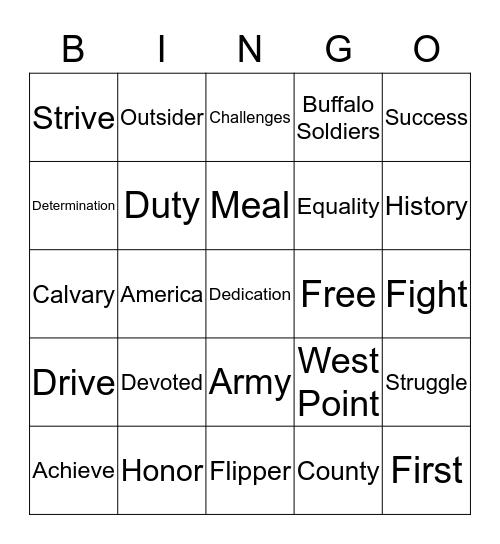 Flipper Dinner 2019 Bingo Card
