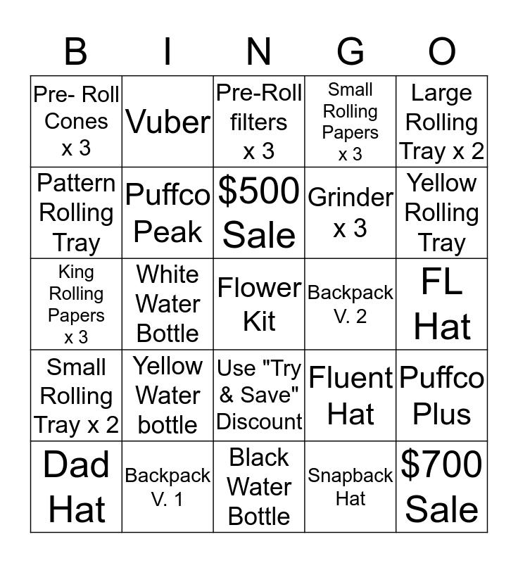 Fluent Curator Bingo Card