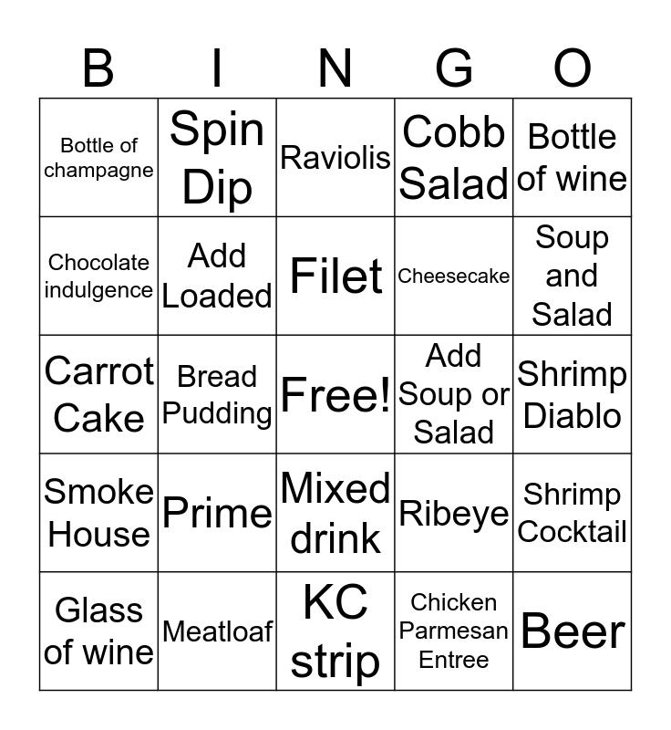Server Bingo! Bingo Card
