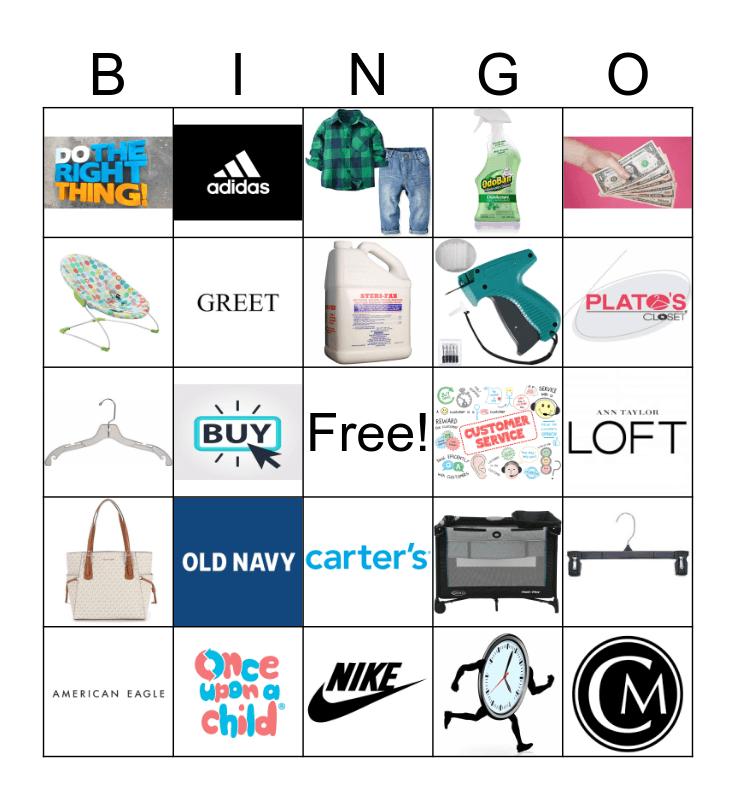 Concept Bingo Card