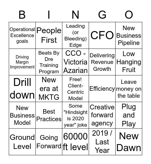 All-Hands Bingo 2/24 Bingo Card