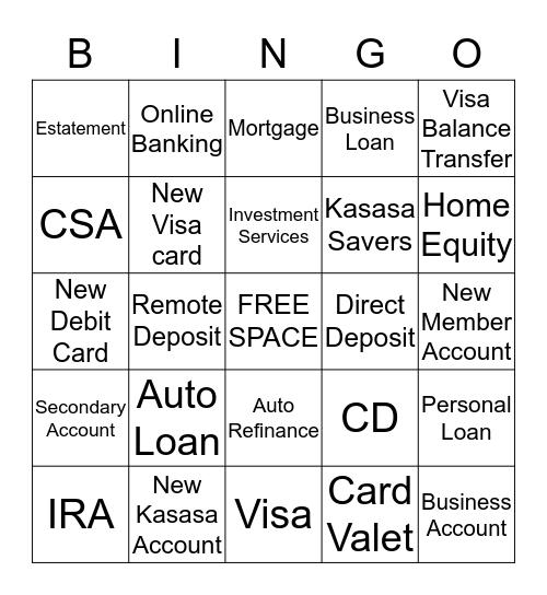 Mardi Gras  Referral Bingo Card