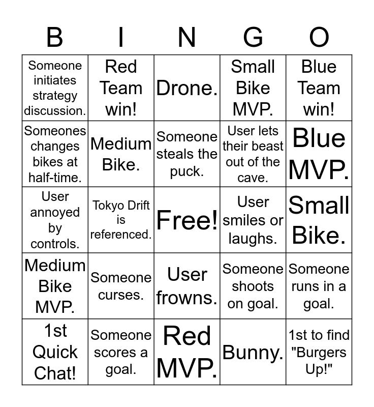 Marfa UT Bingo Card