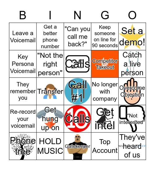 SecurityMetrics Call Blitz Bingo! Bingo Card