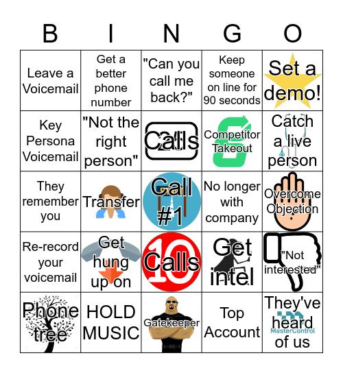 MasterControl Call Blitz Bingo! Bingo Card