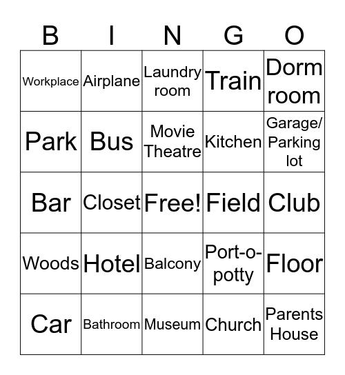 Bingo Places