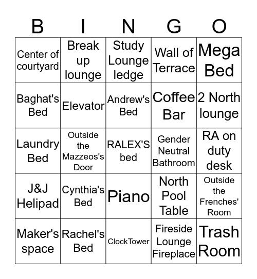 Sleeingo Bingo Card