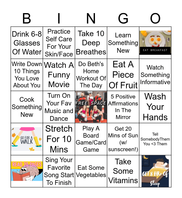 ILKB York Home BINGO Card