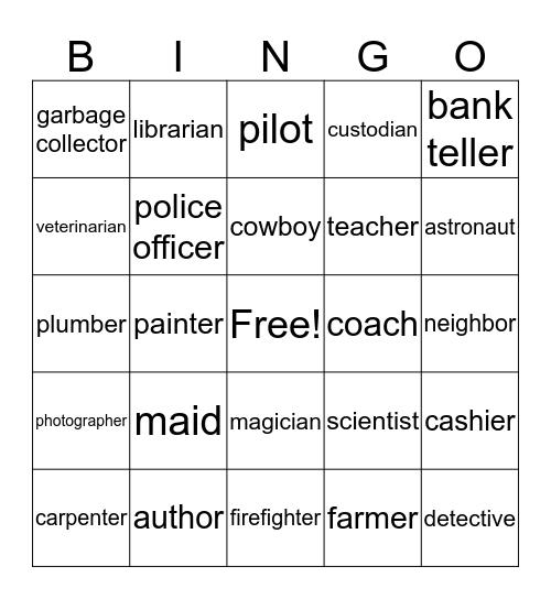 who Bingo Card
