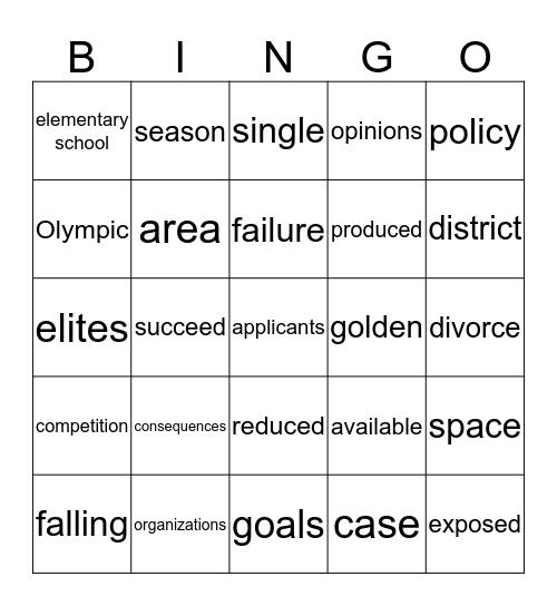Meital Lasry Bingo Card