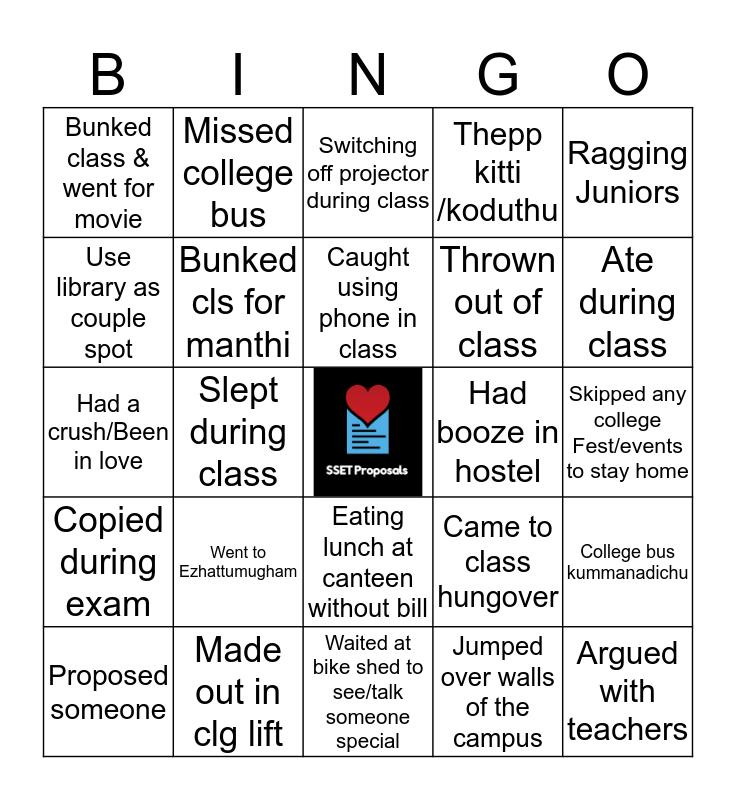 SCMS Bingo Card