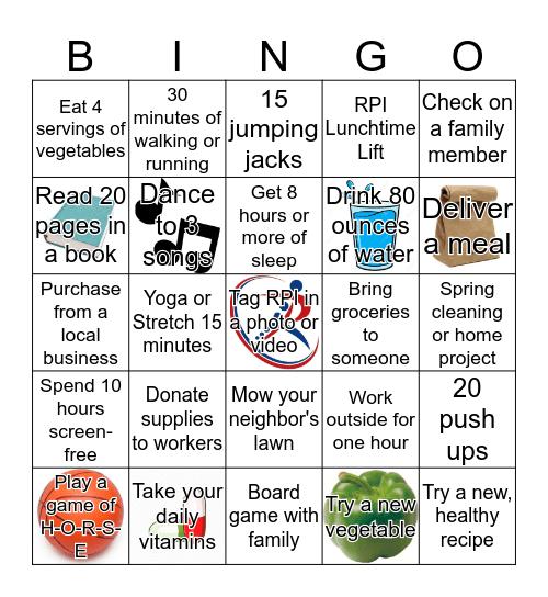 #WhatYouCan Bingo Card