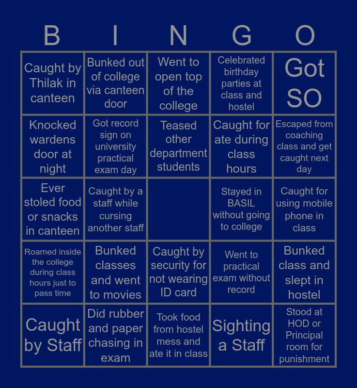Troll SRM TRP's Bingo Card