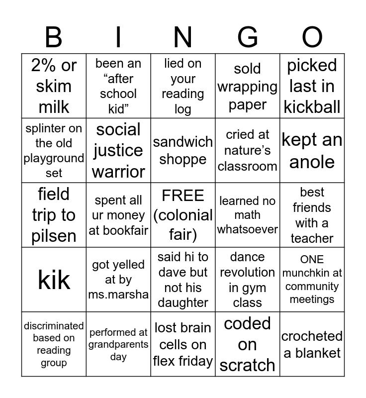 ancona bingo Card