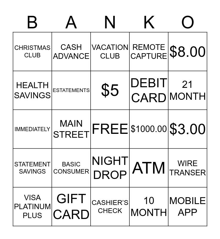 FPB Bingo Card