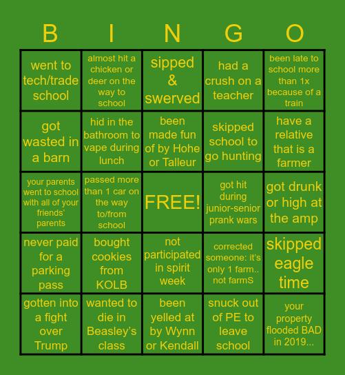 O R C H A R D    F A R M Bingo Card