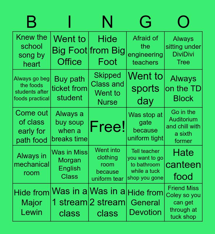 VERE TECH EDITION Bingo Card