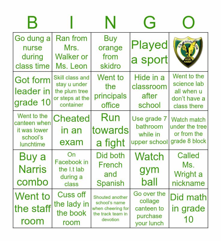 XLCR EDITION Bingo Card