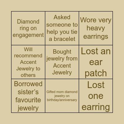 💎Jewelry Edition💎 Bingo Card