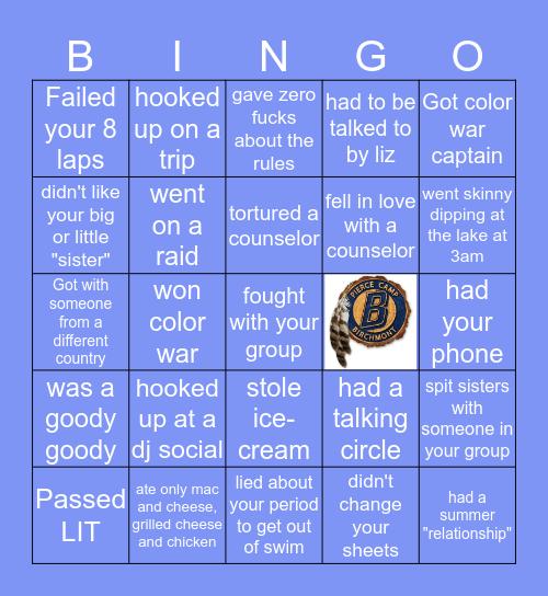 Birchmont Bingo Card