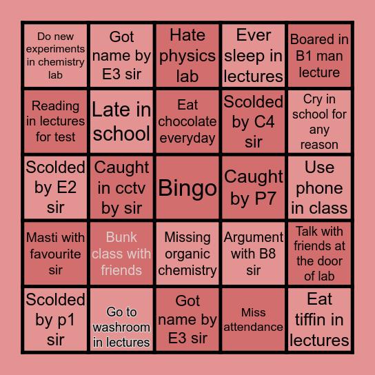 Abians bingo Card
