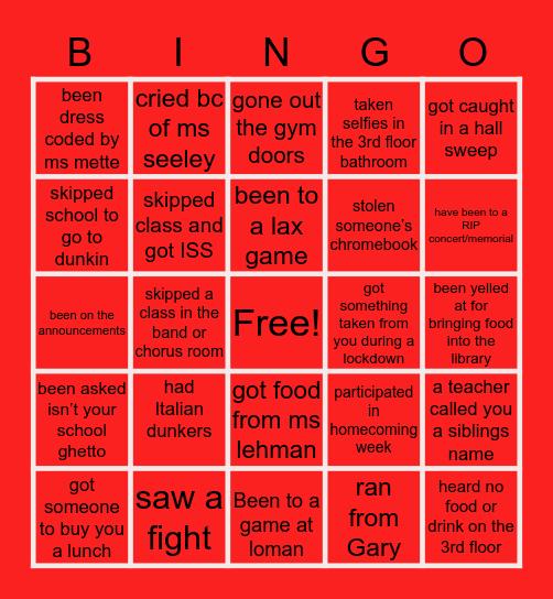 GENEVA Bingo Card