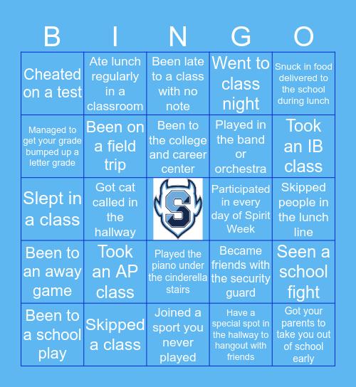 SPRINGBROOK HIGH Bingo Card