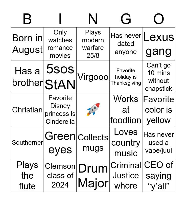 mArris! bingo Card