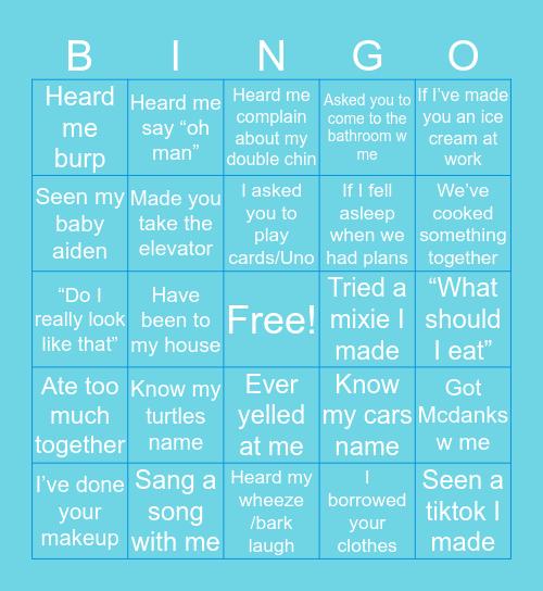 Ava Bingo Card
