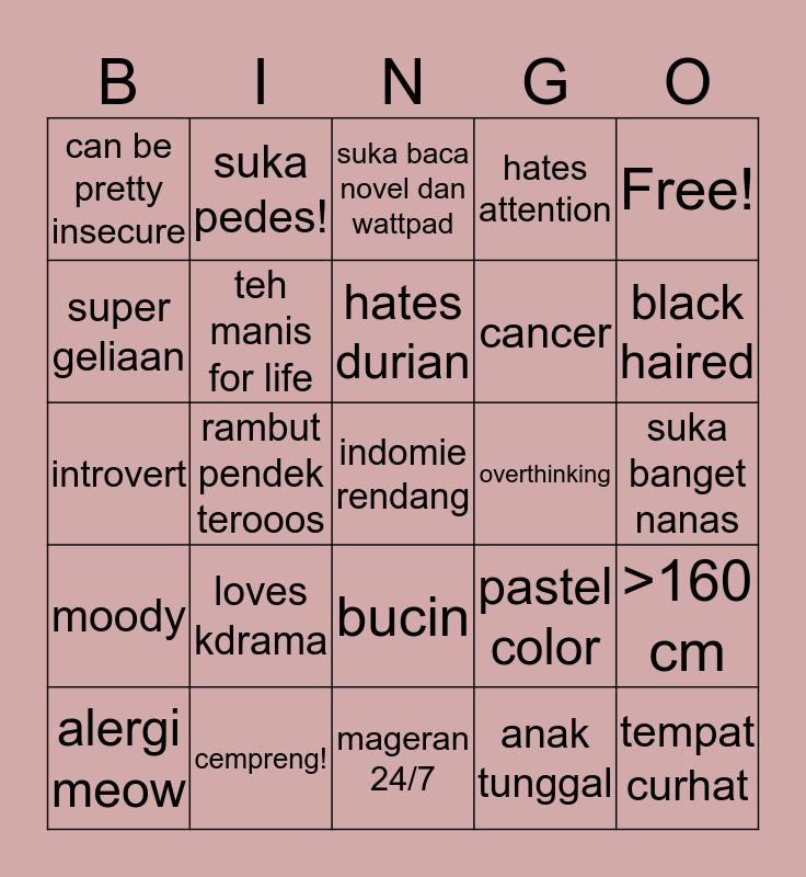 FIASKH BINGO! Bingo Card