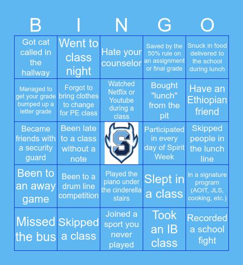 SPRINGBROOK HS Bingo Card