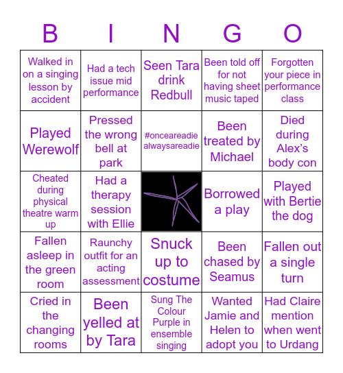 Read College Bingo Card