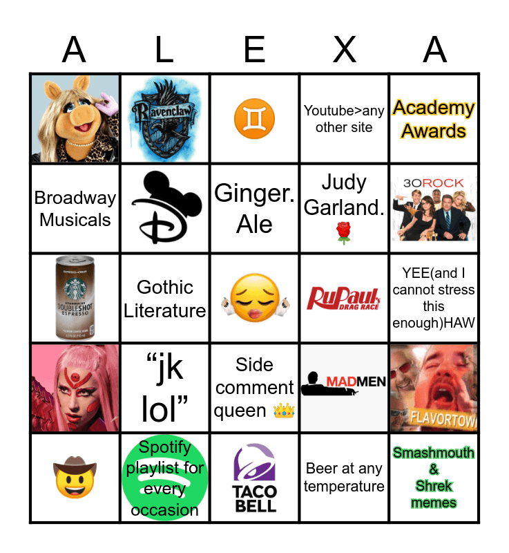 How much are you like Bingo Card