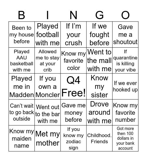 SLATT Q4 Bingo Card